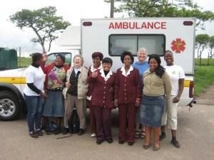 1000 Hills Community Helpers ambulance