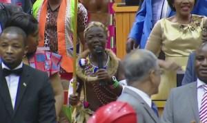 SONA 2017, Young Poet Praising Zuma vs EFF