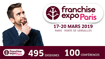 Ulysse participe au salon franchise expo Paris 2019
