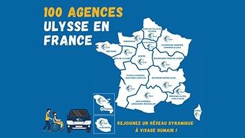 Ulysse comptabilise 100 agences