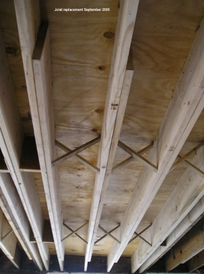 Joist replacement