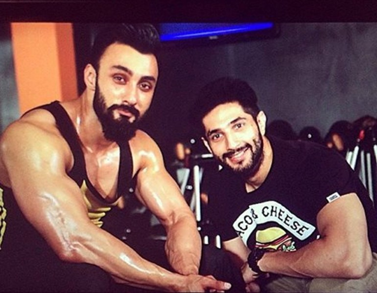 Image result for uzair jaswal   in gym