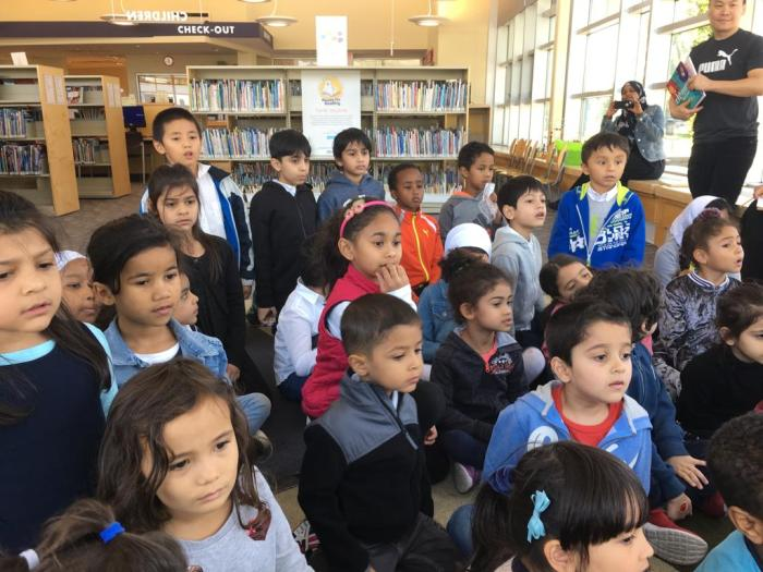 Library visit 2018