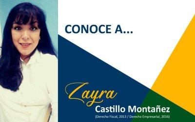 CONOCE A: Zayra Iliana Castillo Montañez