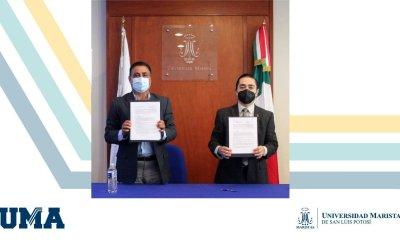 FIRMA DE CONVENIO DE COLABORACIÓN ENTRE LA UMASLP Y EL CONSEJO EMPRESARIAL POTOSINO