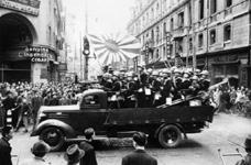 Japanese Troops Entering Shanghai, 1941