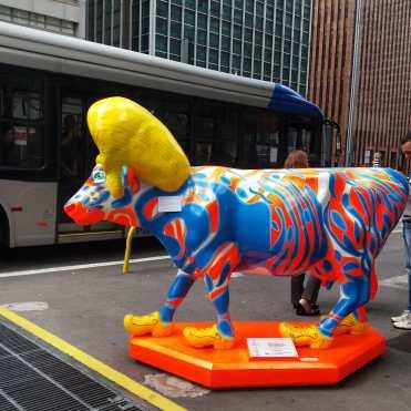 A vaca: Cowsterdam, do artista Glauco Diógenes.