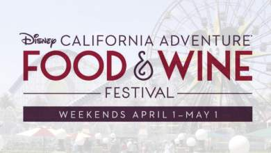 Um bilhete, por favor. Disney California Adventure receberá o Food & Wine Festival