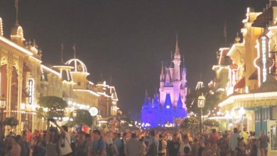 Um bilhete, por favor. A NOITE ILUMINADA DO DISNEY MAGIC KINGDOM