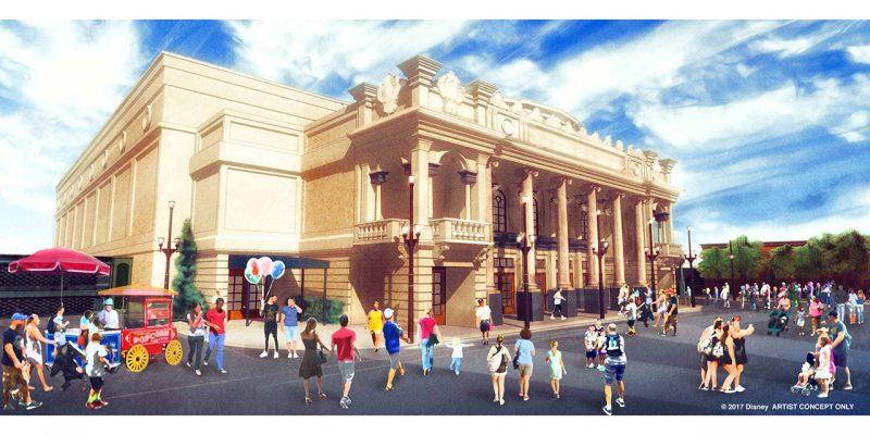 Novo teatro inspirado na vida de Walt Disney será inaugurado no Magic Kingdom