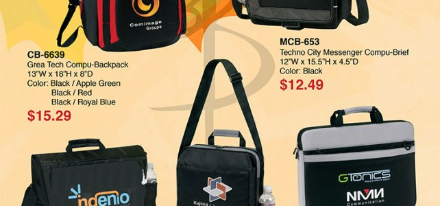Work Bags, Backpacks, Computer Briefcases