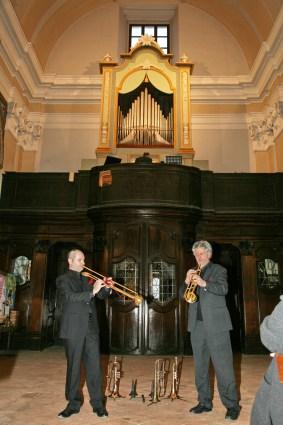 Concerto Due Trombe e Organo Gubbio 2009 (2)