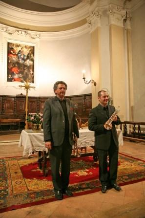 Concerto Due Trombe e Organo Gubbio 2009 (6)