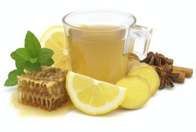 rimedi per l'influenza the miele limone, zenzero cannella