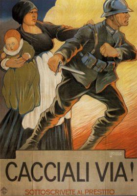prima guerra mondiale manifesto propaganda