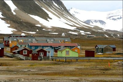 Norvegia, isola Spitzberg termometro del global warming