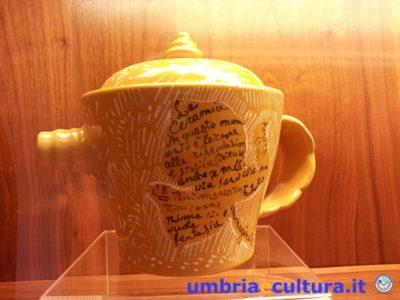 deruta ceramica e cibo