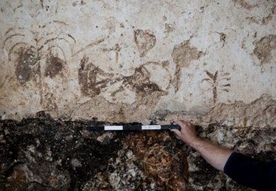 graffiti caratteri ebraici