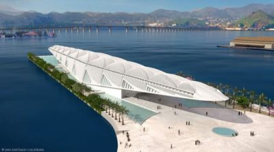 """Inaugurato a Rio il """"Museo del domani"""" di Calatrava"""