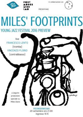 miles' footprints