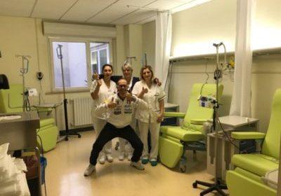 Avanti Tutta Onlus dona 15 poltrone al day hospital di oncologia medica