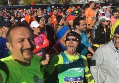 Avanti Tutta Onlus: Leo Cenci da record alla New York Marathon