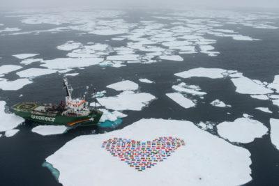 rivellazioni greenpeace artico