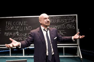 """Panicale. A teatro """"Per non morire di mafia"""" dal libro di Pietro Grasso"""