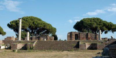 accessibilità per disabili ostia antica tempio rotondo