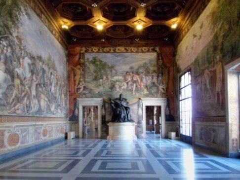 Roma, completato il restauro della sala degli Orazi e Curiazi