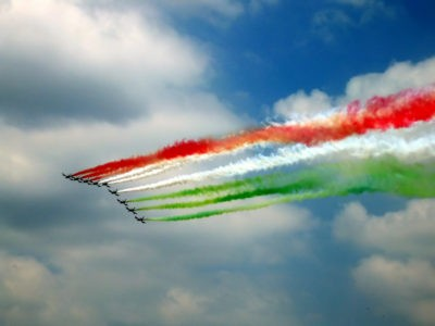 bandiera tricolore freccie