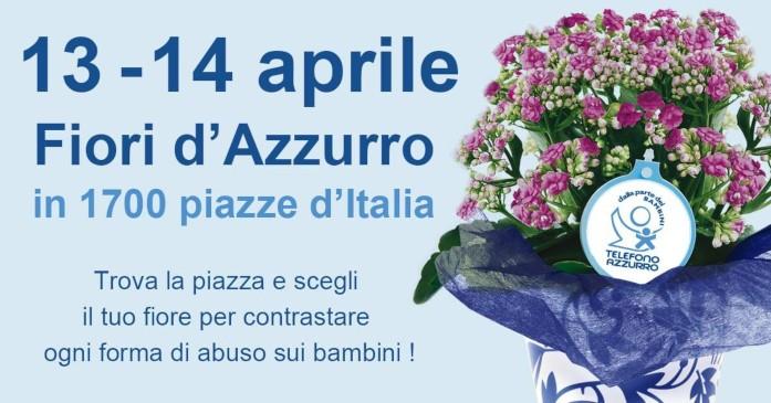 fiori d'azzurro telefono azzurro