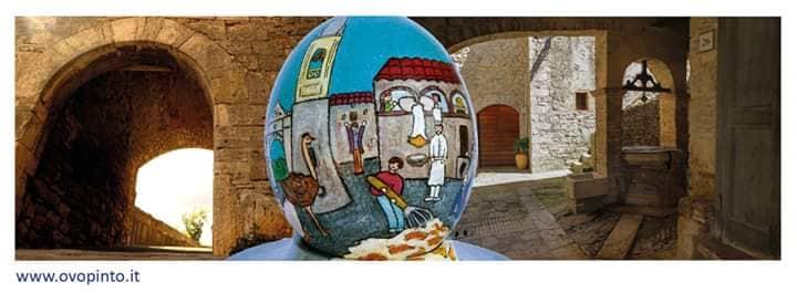 mostra concorso ovo pinto
