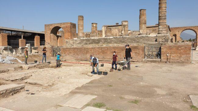 pompei indagini archeologiche