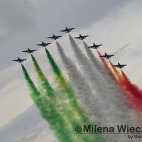 Martedì le Frecce Tricolori sorvoleranno anche Perugia 🔴 Video