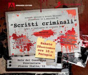 Locandina Scritti criminali