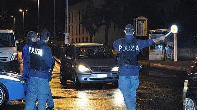 Controlli stragi sabato sera Perugia, sei patenti ritirate per eccesso di alcol e droga