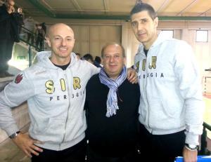 da sx Carlo Sati, Giuseppe Lomurno, Boban Kovac