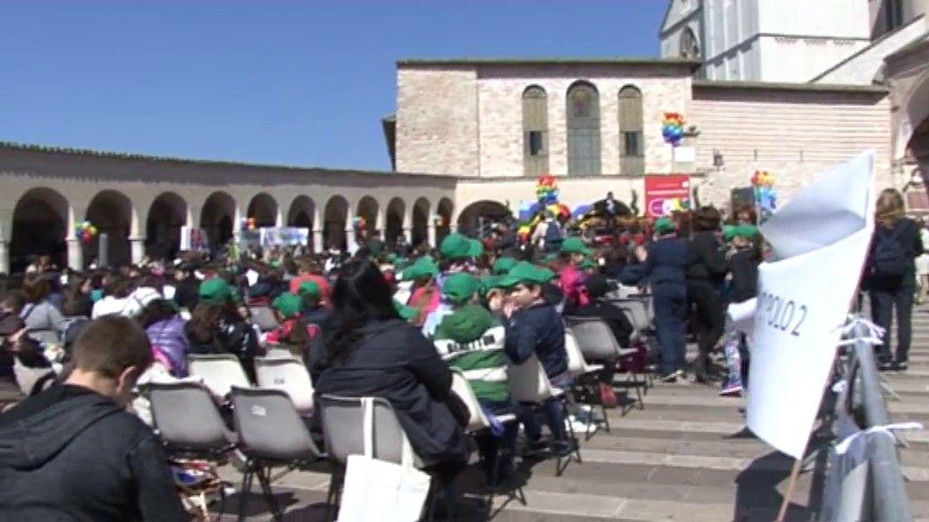3000 giornai ad Assisi (3)