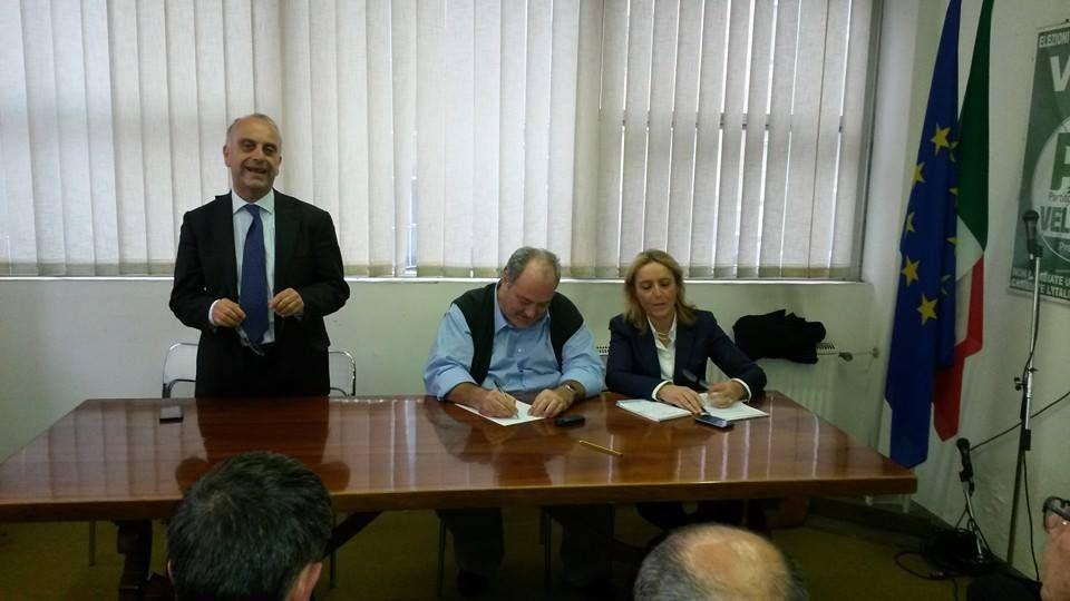 Giampiero Bocci, Goffredo Bettini e Lorena Pesaresi. (9)