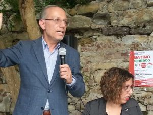Franco Bizzarri e Margherita Banella