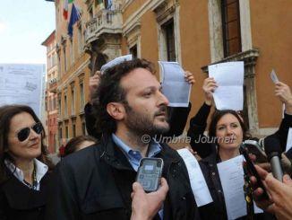 """Andrea Liberati: """"Catiuscia Marini farfuglia parole incerte oggi a Repubblica"""""""