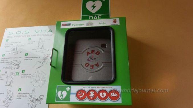 Perugia città cardioprotetta arriva altra colonnina salvavita. Consegnati attestati ai corsisti, sabato prossimo il nuovo dispositivo in via Tuzi