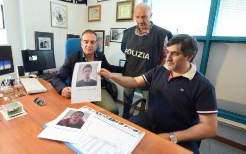 Arrestati rapinatori squadra mobile - gli albanesi arrestati - squadra mobile marco chiacchiera (6)