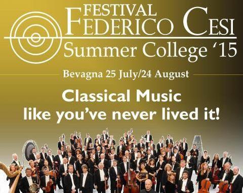 festival federico cesi musica urbis, summer college, bevagna