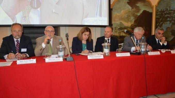 Alviero Palombi, Enzo Tonzani, Catiuscia Marini, Maurizio Savoncelli, Fausto Amadasi, Alberto Diomedi