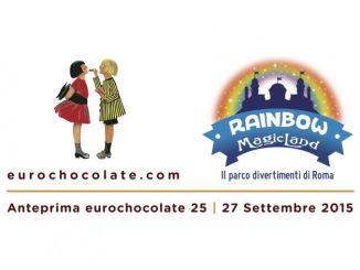Anteprima Eurochocolate arriva a Rainbow MagicLand