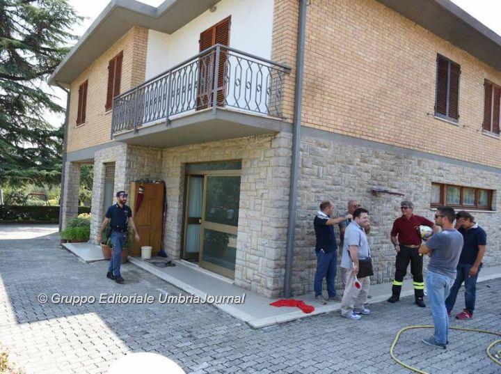 Gruppo Editoriale UmbriaJaournal - Esplosione di Colombella (5)