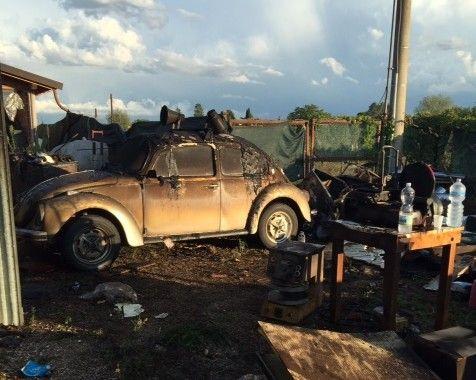 Incendio a Tordandrea, fiamme e paura per una bombola gas