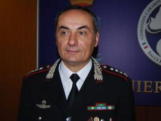 Colonnello Giovanni Capasso nuovo comandante provinciale carabinieri Terni